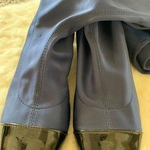 Zara Shoes - Zara 2017 Over the Knee Navy Blue Boots EU41